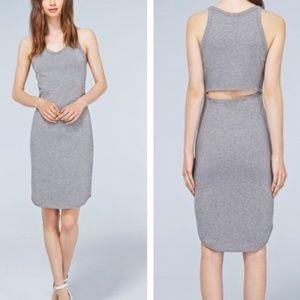 Aritzia Wilfred Free Yasmin Dress, Light Grey